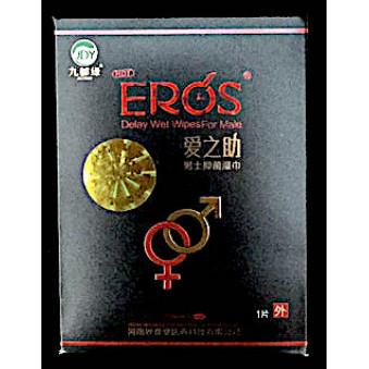 Eros Виагра салфетки