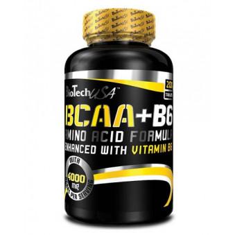 BCAA+B6 200 табл (BioTech)