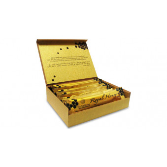 Мёд Golden Royal Honey (Золотой королевский Мёд) 12 пакетиков